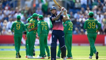 Alex Hales wicket