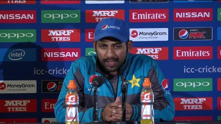 SF1 - ENG vs PAK - Sarfraz Press Conference