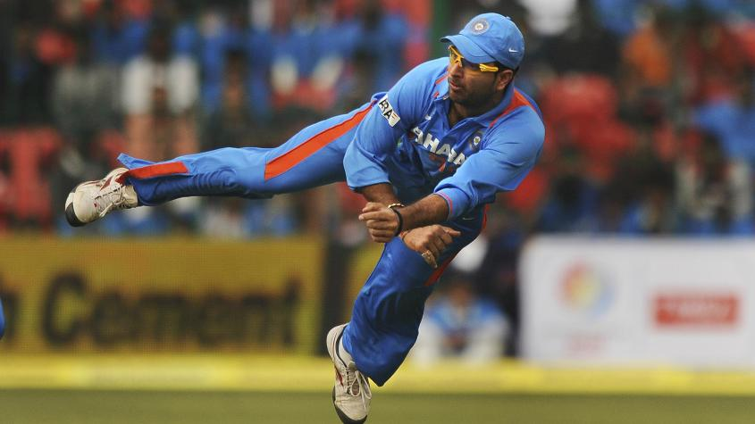 The game has changed since Yuvraj padded up all those years ago. He was then the most fleet-footed among Indian fielders, the harbinger of a new generation.