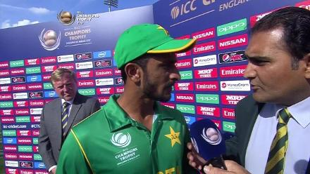 #CT17 SF1 - ENG vs PAK: Player of the Match - Hasan Ali