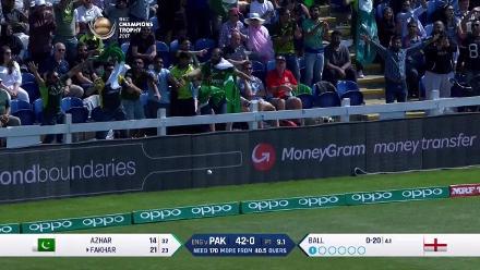 #CT17 SF1 - Eng v Pak: Openers give Pakistan a steady start