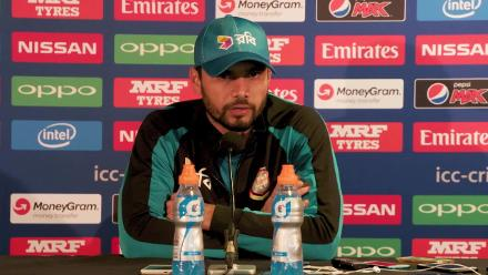 #CT17 SF2 - BAN v IND: BAN Pre Match Press Conference