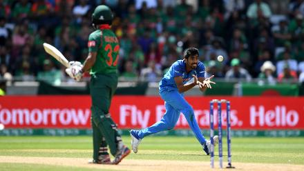 Bangladesh v India - Champions Trophy, Semi Final , Birmingham