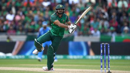 Mashrafe Mortaza smashed a quickfire 25-ball 30 with five boundaries to help Bangladesh reach a respectable 264 for 7 in their 50 overs.