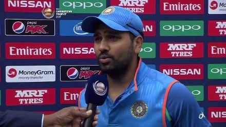 #CT17 Semi-Final 2 - BAN v IND Player of the Match - Rohit Sharma