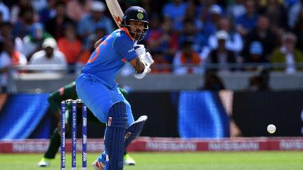 Shikhar Dhawan started the chase rapidly, smashing a 34-ball 46 with seven fours and a six as India raced away to 63/0 in the Power-play
