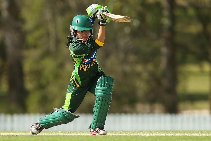 Javeria Khan was the highest run scorer in the qualifier with 299 runs in seven games.