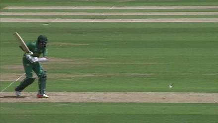 WICKET: Azhar Ali run-out courtesy Jasprit Bumrah