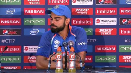 Final - PAK vs IND - Kohli Press Conference