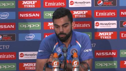 Final PAK v IND - Virat Kohli Pre-Match Press Conference