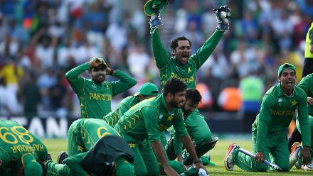Pakistan v India - Champions Trophy, Final , London