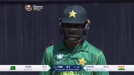 NO BALL: Reprieve for Zaman as Bumrah over steps