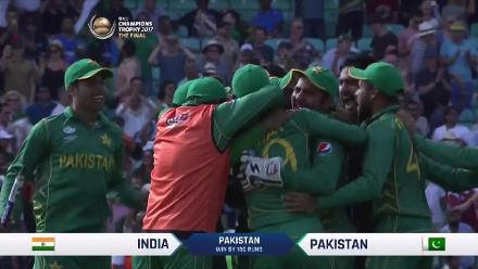 #CT17 Final - Pak vs Ind - Pakistan winning moment