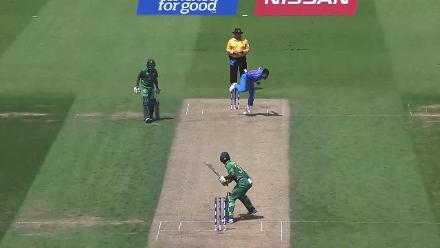 WICKET: Fakhar Zaman is dismissed by Hardik Pandya for 114