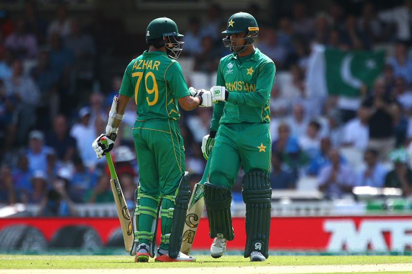 Fakhar and Azhar established a wonderful base which was exploited efficiently by the batsman to follow