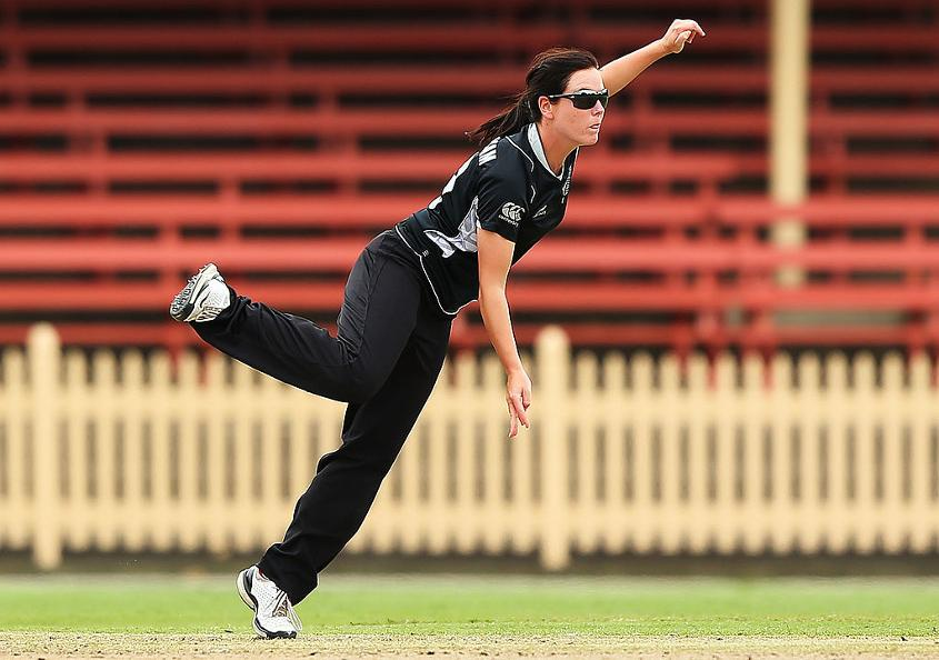 Erin Bermingham balances playing cricket with a career in the police force