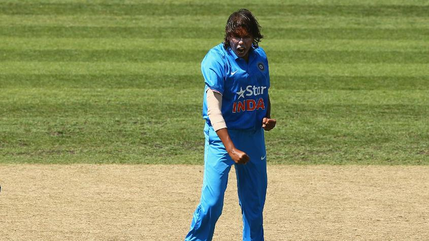 Jhulan Goswami will be looking to move up from her third position.