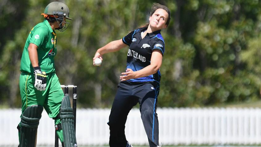 In seven ODIs, Amelia Kerr has taken 10 wickets.