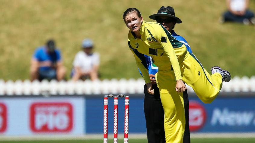 Jess Jonassen will be the highest-ranked Australia bowler in the tournament.