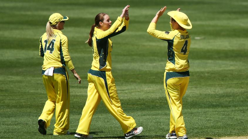 Amanda-Jade Wellington taught herself leg-spin in her backyard growing up, inspired by Shane Warne.
