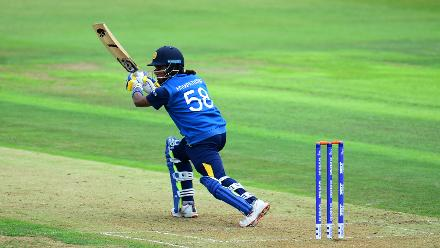Chamari Atapattu scored a fantastic half-century to keep Sri Lanka afloat after Nipuni Hansika was dismissed for 31.
