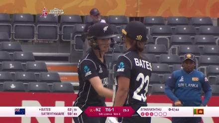 FIFTY: Amy Satterthwaite reaches her half-century as New Zealand cruise