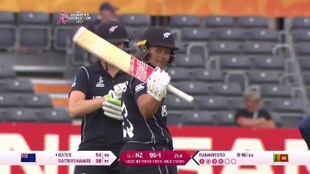 #WWC17 NZ v SL: Suzie Bates innings