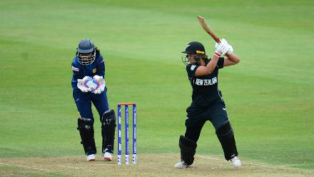 New Zealand lost Rachel Priest early, but Suzie Bates batted positively to steer the game in her side's favour.