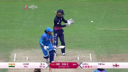 PARTENRSHIP: Mithali Raj and Harmanpreet Kaur put on a quickfire 59 for the fourth wicket