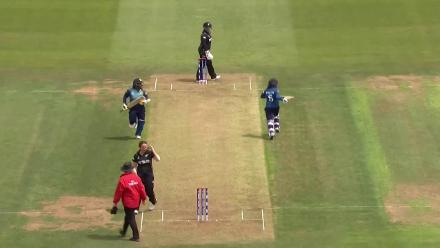 WICKET: Dilani Manodara is run-out for a duck