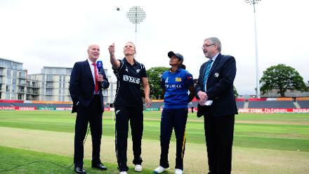 New Zealand women won the toss and opted to field first.