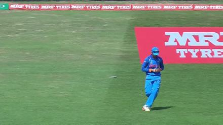 WICKET: Tammy Beaumont is dismissed by Shikha Pandey for 14