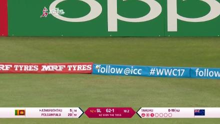 #WWC17: Chamari Polgampala scores a sedate 49