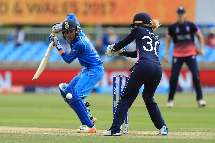 It was Smriti Mandhana's first World Cup match and her first international outing after coming back from injury