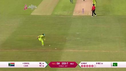#WWC17: SAw vs PAKw - Breathtaking final over