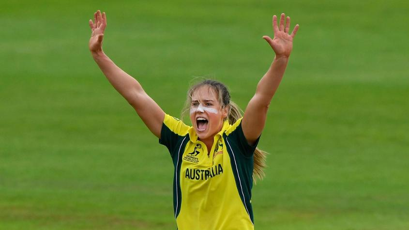 Ellyse Perry took three wickets or 47 in her nine overs to restrict West Indies to 204 all out.