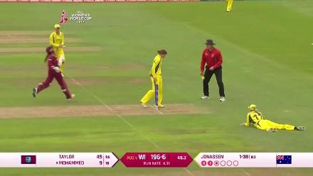 Mohammed & Taylor wicket