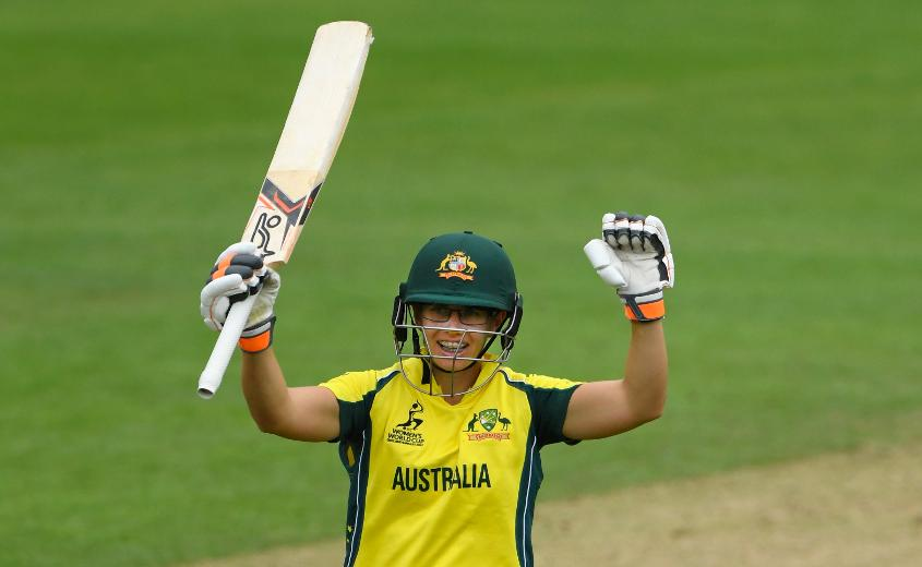 Nicole Bolton stroked her way to an unbeaten 107 off 116 balls, studded with 14 hits to the fence.