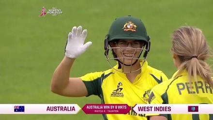 #WWC17 AUSw vs WIw: Australia winning moment