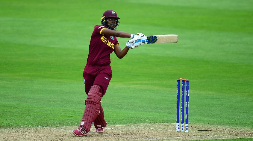 Hayley Matthews top-scored for West Indies with 46 off 63 deliveries including seven fours.