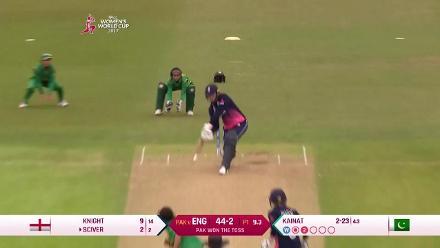 ENGw vs PAKw: 100 up for England Women