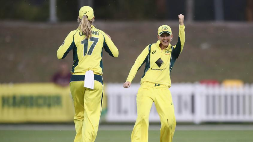 Jonassen was the leading wicket-taker at the ICC Women's Championship with 31 scalps from 21 matches.