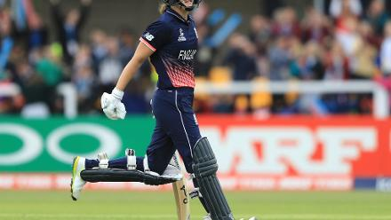 Natalie Sciver scored a 92-ball 137 to lead England's charge.