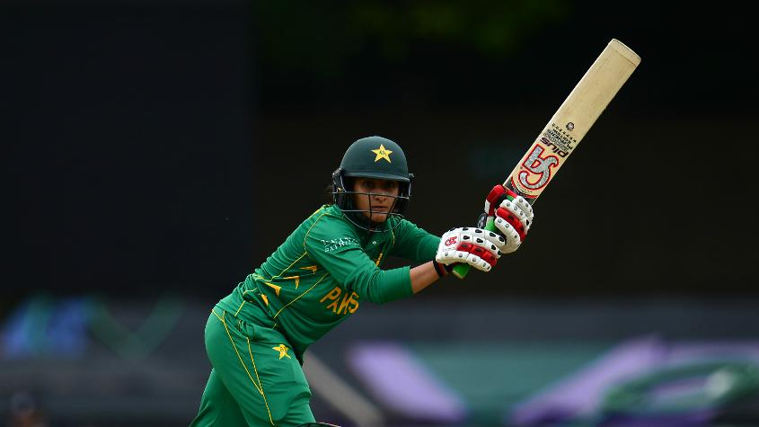 Bismah Maroof injured her right hand.
