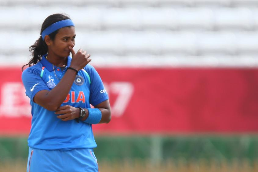 Shikha Pandey has been in good form, picking up two wickets in her side's opening win.