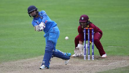 Mithali Raj scored a steady 46 and forged a match-defining 108-run stand with Mandhana for the third wicket.