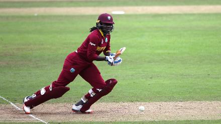 Stefanie Taylor was run out for a rusty 42-ball 16.