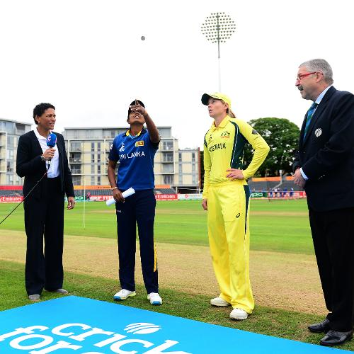 Australia won the toss and elected to field first.