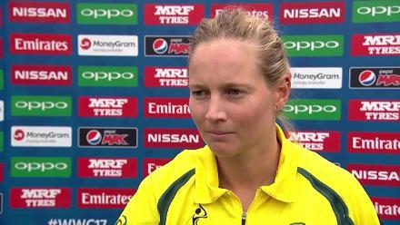#WWC17: AUS v SL - Meg Lanning post-match press interview