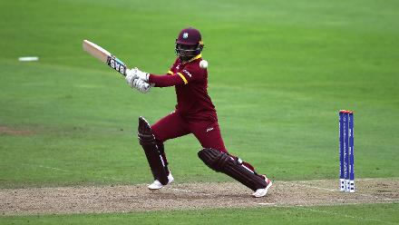 Shannon Daley scored a fine 37-ball 33 before falling to Deepti Sharma.